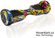 Hoverboard standard grafitty - yellow